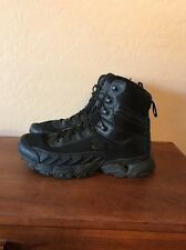 Under Armour Valsetz Tactical Military Field Boots Mens 10 EUC Black Lightweight