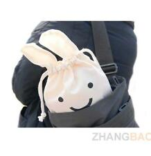 Multifunction Rabbit Shrink Bag Pouch Cosmetic Case Storage Pocket Bags White