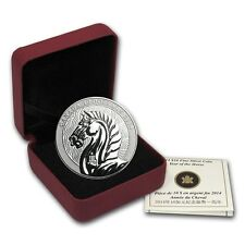 2014 Canadian $10 Lunar Horse 1/2 oz .9999 Proof Silver Coin