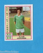 FRANCIA-FOOTBALL 80-PANINI-Figurina n.289- CHAUSSIN - S.ETIENNE -Rec