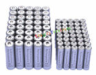 40 AA 3000mAh + 40 AAA 1800mAh 1.2V NI-MH Rechargeable Battery 2A 3A Grey Cell