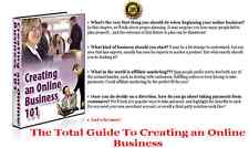 The Total Guide To Creating an Online Business - CD/DVD