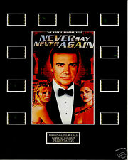 James Bond - 35mm Never Say Never Again Film Display