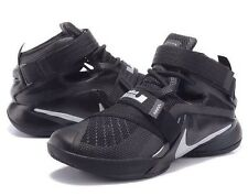 Nike Lebron Soldier IX 9 Zoom Black Mens UK 7.5 EUR 42 LAST ONE!!