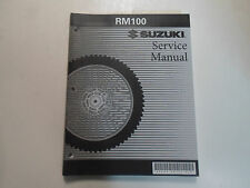 2003 2004 Suzuki RM100 Service Repair Shop Workshop Manual NEW 2nd ED FACTORY