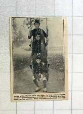 1923 Three Grand Daughters Of The Begum Of Bhopal Wearing Scottish Costume