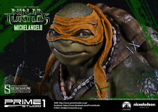 SIDESHOW PRIME 1 STUDIO TMNT TEENAGE MUTANT NINJA TURTLES MICHELANGELO STATUE