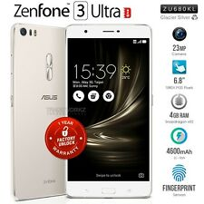 "New ASUS Zenfone 3 Ultra ZU680KL Silver 6.8"" IPS LCD 4G LTE Android Mobile Phone"