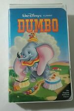 Dumbo Walt Disney Home Video VHS Black Diamond The Classics TESTED