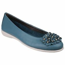 The Flexx Miss Daisy Petroleum Womens/Ladies Cashmere Pumps/Slips Ons Size 6 NEW