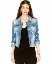 Guess Denim Jacket Womens Designer Destroyed Jacket S Tullum Destroy Wash NWT