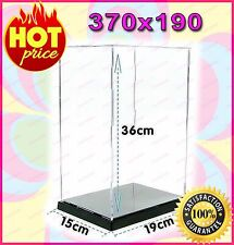 """Transparent Acrylic Display Case Box 12"""" 1/6 Scale Figures (Easy self-assembly)"""
