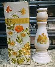 Vintage Avon Buttercup Candle Stick Moonwind Cologne New In Box