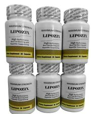 HARDCORE Weight Loss Hoodia Fat Burner LIPOZIX - Rated #1 of 2013
