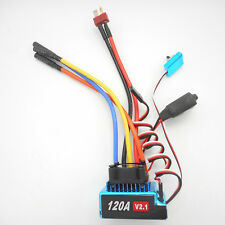 RC 120A V2.1 Sensored Brushless Speed Controller ESC for 1/8 1/10 1/12 Car US