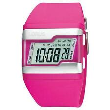 Lorus R2387EX9 Women's Resin Band LCD Display Day And Date Digital Watch - Pink