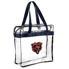 NFL Chicago Bears clear zipper Massenger Bag Stadium Approved