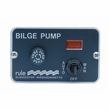 Rule 3-Way Panel Lighted Switches - Deluxe(For Auto Float) - 41 Marine MD