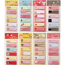 120Pages Cartoon Sticker Post It Bookmark Marker Memo Tab Sticky Notes Random