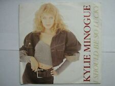 KYLIE MINOGUE 45 TOURS BELGIUM I SHOULD BE SO LUCKY