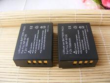 2X Battery for FUJI Fujifilm NP-W126 BC-W126 FinePix HS30 HS30EXR HS33EXR X-Pro1