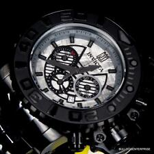 Invicta JT Sea Hunter III Black 70mm Full Size Meteorite Watch Swiss Limited New