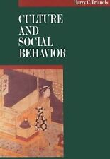 Culture and Social Behavior-ExLibrary