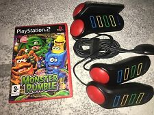 BUZZERS FOR  PLAYSTAION 2  - INCLUDES  1 GAME - PS2 - MONSTER RUMBLE