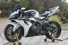 Cool ABS White Black Fairing Bodywork Injection Kits F 2005-2006 Honda CBR600RR