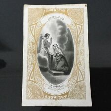 Image Pieuse Bes Et Dubreuil Annonciation HOLY CARD 19thC Santino Santino