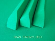 PRO POCKET RAILS COVERED SIMONIS 860 & BED CLOTH FOR VALLEY POOL TABLE DIAMOND
