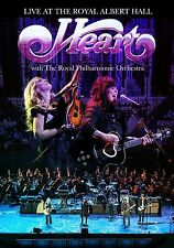HEART w ROYAL ORCHESTRA New Sealed 2017 LIVE CONCERT IN LONDON DVD