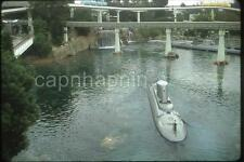 View of Submarine From Monorail DISNEYLAND Attraction Vintage 1967 Slide Photo