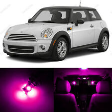 11 x Pink/Purple LED Lights Interior Package For Mini Cooper Hardtop 2006 - 2014