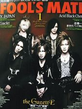 Fool's Mate the GazettE Acid Black Cherry Alice Nine D ASAGI JAPAN Mag Jan. 2008