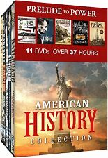 AMERICAN HISTORY COLLECTION: PRELUDE TO POWER - DVD - Sealed Region 1