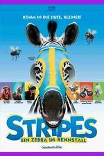 DVD STRIPES - EIN ZEBRA IM RENNSTALL - 3D-Cover Erstauflage - alte FSK ** NEU **
