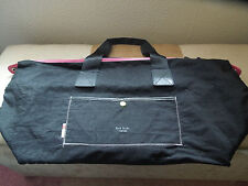PAUL SMITH PARFUMS WEEKEND BLUE PINK & YELLOW TRAVEL BAG HOLDALL GYM TOTE BAG