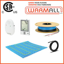 120V / 100 Sq/Ft - Premium Electric Tile Floor Heating Cable+Prodeso Membrane