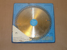 "NOS WKW Wisconsin Knife Works 8"", 64 Tooth Plastics & Veneer Circular Saw Blade"