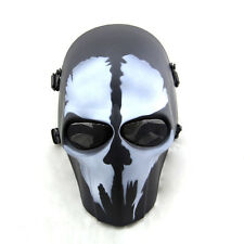 The Call of Duty Skull Ghost Adult Full Face Mask Hood Cosplay CS Halloween