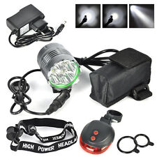 Boruit 10000 Lm 4*XML T6 LED MTB Front Bicycle Bike Light  Headlamp 18650 Charge