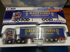 Corgi scania r curtainside beattys combustibles nord irlande CC13755 mib 1:50