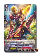 Cardfight Vanguard  x 4 Dragon Knight, Razer - BT15/062EN - C Mint