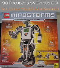 Lego 8527 Mindstorms NXT 100% Complete w Bonus  CD w 90 Great projects  Set 256