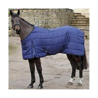 new shires budget stable rug navy check size 5ft 9 £20.00