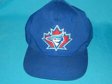 VINTAGE RARE MLB TORONTO BLUE JAYS SNAPBACK CAP HAT SIGNATURES SIZE SMALL/MEDIUM