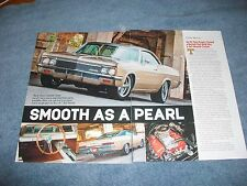 """1966 Impala SS Super Sport RestoRod Article """"Smooth as a Pearl"""""""