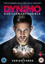 Dynamo Magician Impossible Series 3 BRAND NEW AND SEALED UK REGION 2 DVD