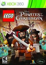 XBOX 360 LEGO PIRATES OF THE CARIBBEAN THE VIDEO GAME BRAND NEW